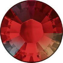 Swarovski Crystal Flatback Hotfix 2038 SS-6 ( 1.95mm) - Light Siam Aurore Boreale (F)- 1440 Pcs