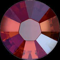 Swarovski Crystal Flatback Hotfix 2038 SS-6 ( 1.95mm) - Light Siam Shimmer (F)- 1440 Pcs