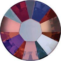 Swarovski Crystal Flatback Hotfix 2038 SS-6 ( 1.95mm) - Siam Shimmer  (F)- 1440 Pcs