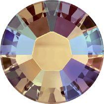 Swarovski Crystal Flatback Hotfix 2038 SS-6 ( 1.95mm) - Topaz Shimmer (F)- 1440 Pcs