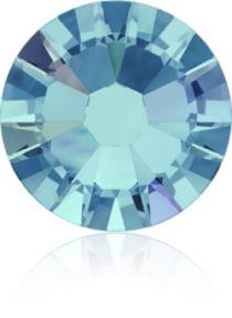 Swarovski Crystal Flatback No Hotfix 2058 SS-9 (2.60mm) -ᅠAquamarine Aurore Boreale (F) - 1440 Pcs