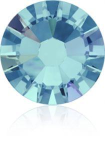 Swarovski Crystal Flatback No Hotfix 2058 SS-5 (1.75mm) -ᅠᅠAquamarine Aurore Boreale (F) - 1440 Pcs