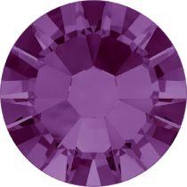 Swarovski Crystal Flat Back No Hotfix 2058 SS 6(1.95mm) AMETHYST F-1440 Pcs.