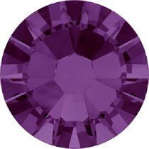 Swarovski Crystal Flatback No Hotfix 2058 SS-5 (1.75mm) -ᅠAmethyst (F) - 1440 Pcs