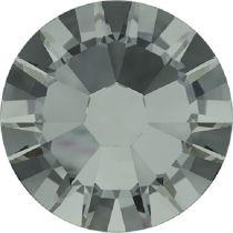 Swarovski Crystal Flatback No Hotfix 2058 SS-5 (1.75mm) -ᅠBlack Diamond (F) - 1440 Pcs