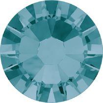 Swarovski Crystal Flatback No Hotfix 2058 SS-10 (2.80mm) -ᅠBlue Zircon  (F) - 1440 Pcs