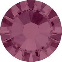 Swarovski Crystal Flatback No Hotfix 2058 SS-5 (1.75mm) - Burgundy (F) - 1440 Pcs