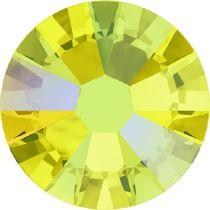 Swarovski Crystal Flatback No Hotfix 2058 SS-9 (2.60mm) -ᅠᅠCitrine Shimmer  (F) - 1440 Pcs