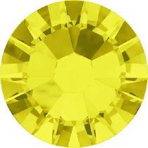 Swarovski Crystal Flatback No Hotfix 2058 SS-10 (2.80mm) -ᅠCitrine (F) - 1440 Pcs