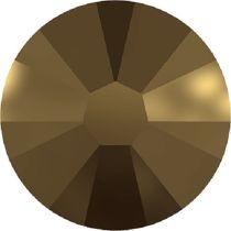 Swarovski Crystal Flatback No Hotfix 2058 SS-9 (2.60mm) -ᅠCrystal Dorado  (F) - 1440 Pcs