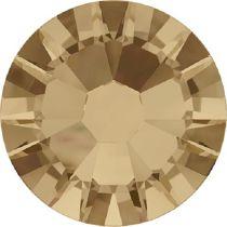 Swarovski Crystal Flatback No Hotfix 2058 SS-9 (2.60mm) -ᅠCrystal Golden Shadow (F) - 1440 Pcs