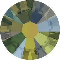 Swarovski Crystal Flatback No Hotfix 2058 SS-9 (2.60mm) -ᅠCrystal Iridescent Green  (F) - 1440 Pcs