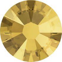 Swarovski Crystal Flatback No Hotfix 2058 SS-9 (2.60mm) -ᅠCrystal Metallic Sunshine  (F) - 1440 Pcs