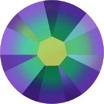 Swarovski Crystal Flatback No Hotfix 2058 SS-9 (2.60mm) -ᅠCrystal Scarabaeus Green   (F) - 1440 Pcs