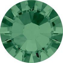 Swarovski Crystal Flat Back No Hotfix 2058 SS 6(1.95mm)  EMERALD F-1440 Pcs.