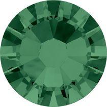 Swarovski  Flatback No Hotfix 2058 SS-5 (1.75mm) - Emerald (F) - 1440 Pcs
