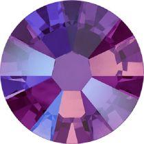 Swarovski Crystal Flatback No Hotfix 2058 SS-9 (2.60mm) -ᅠᅠFuchsia Shimmer  (F) - 1440 Pcs