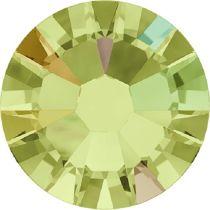 Swarovski Crystal Flatback No Hotfix 2058 SS-9 (2.60mm) -Jonquil Aurore Boreale  (F) - 1440 Pcs