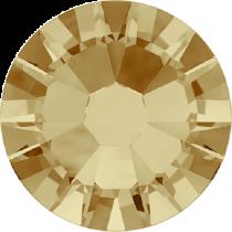 Swarovski Crystal Flatback No Hotfix 2058 SS-6 (1.95mm) -ᅠᅠLight Colorado Topaz (F) - 1440 Pcs
