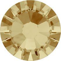 Swarovski Crystal Flatback No Hotfix 2058 SS-9 (2.60mm) -ᅠLight Colorado Topaz  (F) - 1440 Pcs