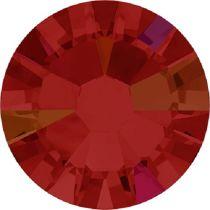Swarovski Crystal Flatback No Hotfix 2058 SS-9 (2.60mm) -ᅠᅠLight Siam Aurore Boreale  (F) - 1440 Pcs