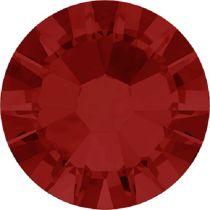 Swarovski Crystal Flatback No Hotfix 2058 SS-6 (1.95mm) -ᅠᅠLight Siam (F) - 1440 Pcs