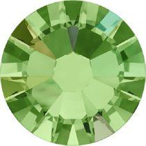 Swarovski Crystal Flatback No Hotfix 2058 SS-9 (2.60mm) -ᅠᅠPeridot Aurore Boreale  (F) - 1440 Pcs