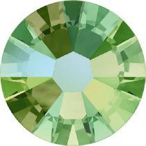 Swarovski Crystal Flatback No Hotfix 2058 SS-9 (2.60mm) -ᅠPeridot Shimmer(F) - 1440 Pcs