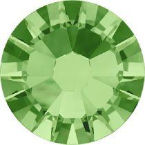 Swarovski Crystal Flatback No Hotfix 2058 SS-10 (2.80mm) -ᅠPeridot  (F) - 1440 Pcs