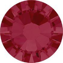 Swarovski Crystal Flatback No Hotfix 2058 SS-10 (2.80mm) -ᅠRuby (F) - 1440 Pcs