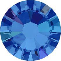 Swarovski Crystal Flatback No Hotfix 2058 SS-9 (2.60mm) -ᅠSapphire Aurore Boreale  (F) - 1440 Pcs