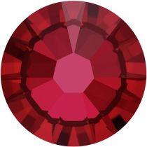 Swarovski Crystal Flatback No Hotfix 2058 SS-9 (2.60mm) -ᅠᅠScarlet  (F) - 1440 Pcs