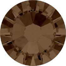 Swarovski Crystal Flatback No Hotfix 2058 SS-9 (2.60mm) -ᅠSmoked Topaz (F) - 1440 Pcs