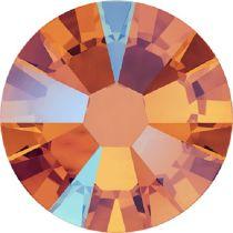 Swarovski Crystal Flatback No Hotfix 2058 SS-9 (2.60mm) -ᅠTangerine Shimmer   (F) - 1440 Pcs