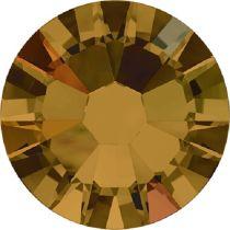 Swarovski Crystal Flatback No Hotfix 2058 SS-9 (2.60mm) -ᅠTopaz Aurore Boreale (F) - 1440 Pcs