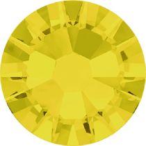 Swarovski Crystal Flatback No Hotfix 2058 SS-9 (2.60mm) -ᅠYellow Opal  (F) - 1440 Pcs