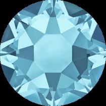 Swarovski 2078 Hotfix Diamante Flat Back Round SS-20Aquamarine