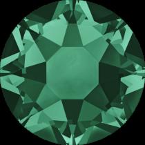 Swarovski 2028 Hotfix Diamante Flat Back Round SS-20 Emerald