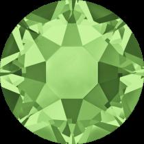 Swarovski Diamante Hotfix Transparent Flat Back Round SS-20 Peridot