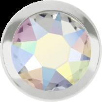Swarovski Crystal Flatback Hotfix 2078 H Rimmed Flat Back SS-20  ( 4.70mm)  Crystal Aurore Boreale SR (F) -  1440 Pcs