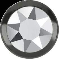 Swarovski Crystal Flatback Hotfix 2078 H Rimmed Flat Back SS-20  ( 4.70mm)  Crystal Light Chrome GM (F) -  1440 Pcs