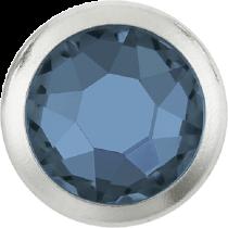 Swarovski Crystal Flatback Hotfix 2078 H Rimmed Flat Back SS-20  ( 4.70mm)  Denim Blue SR (F) -  1440 Pcs