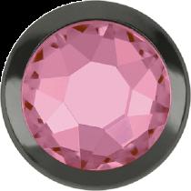Swarovski Crystal Flatback Hotfix 2078 H Rimmed Flat Back SS-16  ( 3.90mm)  Light Rose GM (F) -  1440 Pcs
