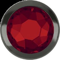 Swarovski Crystal Flatback Hotfix 2078 H Rimmed Flat Back SS-16  ( 3.90mm)  Light Siam GM (F) -  1440 Pcs