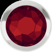 Swarovski Crystal Flatback Hotfix 2078 H Rimmed Flat Back SS-16  ( 3.90mm)  Light Siam SR (F) -  1440 Pcs