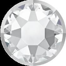 Swarovski Crystal Flatback Hotfix 2078 I Rimmed Flat Back SS-34  ( 7.17mm) Crystal Light Chrome (F) -  144 Pcs