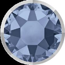 Swarovski Crystal Flatback Hotfix 2078 I Rimmed Flat Back SS-34  ( 7.17mm) Denim Blue Light Chrome (F) -  144 Pcs