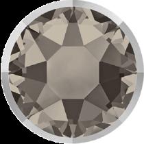 Swarovski Crystal Flatback Hotfix 2078 I Rimmed Flat Back SS-34  ( 7.17mm) Greige Light Chrome (F) -  144 Pcs