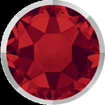 Swarovski Crystal Flatback Hotfix 2078 I Rimmed Flat Back SS-34  ( 7.17mm) LightSiam Light Chrome (F) -  144 Pcs