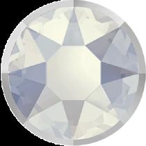 Swarovski Crystal Flatback Hotfix 2078 I Rimmed Flat Back SS-34  ( 7.17mm) White Opal Light Chrome (F) -  144 Pcs